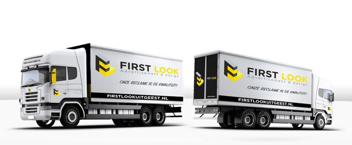 large vrachtwagen