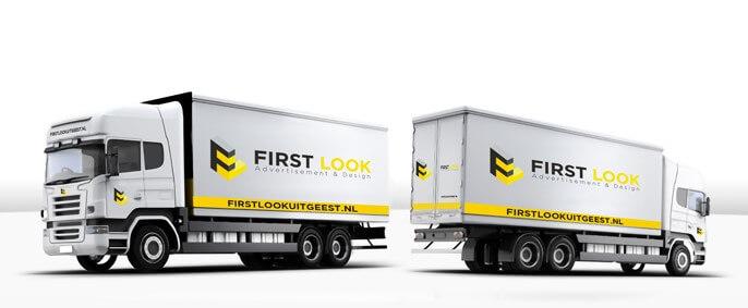 medium vrachtwagen