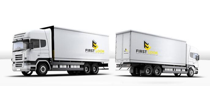 small vrachtwagen